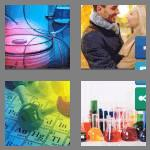 4 pics 1 word 9 letters chemistry