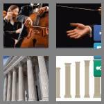 4 pics 1 word 9 letters classical