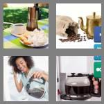 4 pics 1 word 9 letters coffeepot