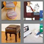 4 pics 1 word 9 letters footstool