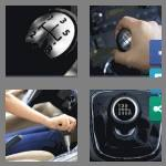 4 pics 1 word 9 letters gearstick