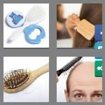 4 pics 1 word 9 letters hairbrush