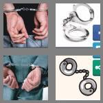 4 pics 1 word 9 letters handcuffs