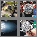 4 pics 1 word 9 letters headlight