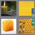 4 pics 1 word 9 letters honeycomb