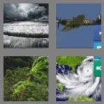 4 pics 1 word 9 letters hurricane
