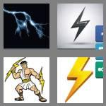 4 pics 1 word 9 letters lightning