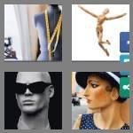4 pics 1 word 9 letters mannequin