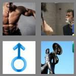 4 pics 1 word 9 letters masculine