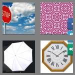 4 pics 1 word 9 letters octagonal