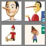 4 pics 1 word 9 letters pinocchio