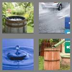 4 pics 1 word 9 letters rainwater
