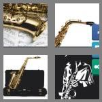 4 pics 1 word 9 letters saxophone