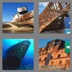 4 pics 1 word 9 letters shipwreck