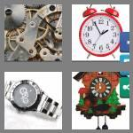 4 pics 1 word 9 letters timepiece