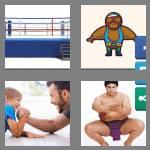 4 pics 1 word 9 letters wrestling